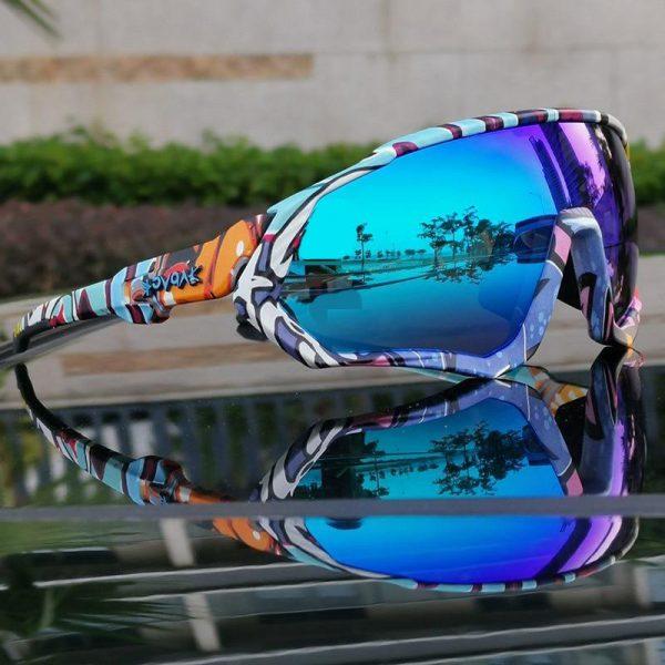 TR90 Polarized Sports Cycling Sunglasses MTB  Mountain Bike Myopic Frame