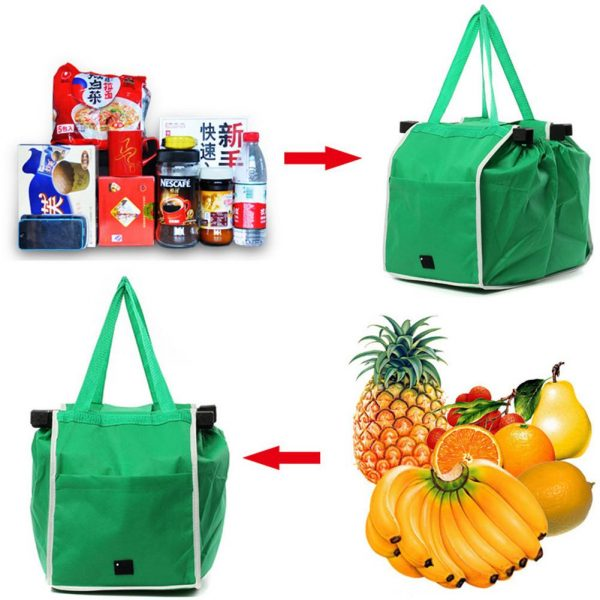 Trolley To Car Shopping Bag Foldable & Eco Friendly