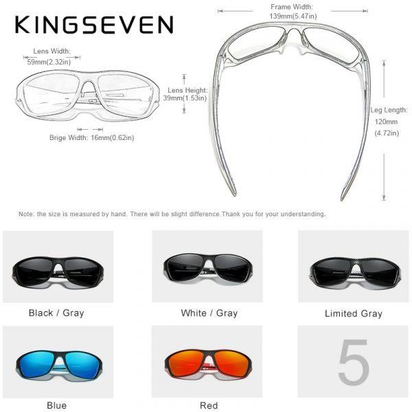 Ultralight Frame Polarized Sport And Leisure Sunglasses Unisex