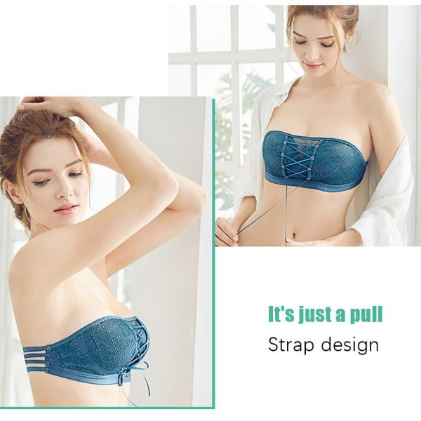 Strapless Invisible Push Up Bra