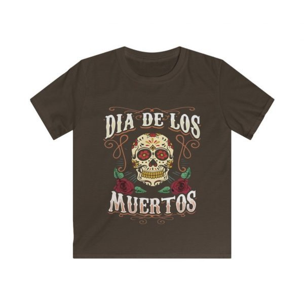 Kids Day Of The Dead T Shirt