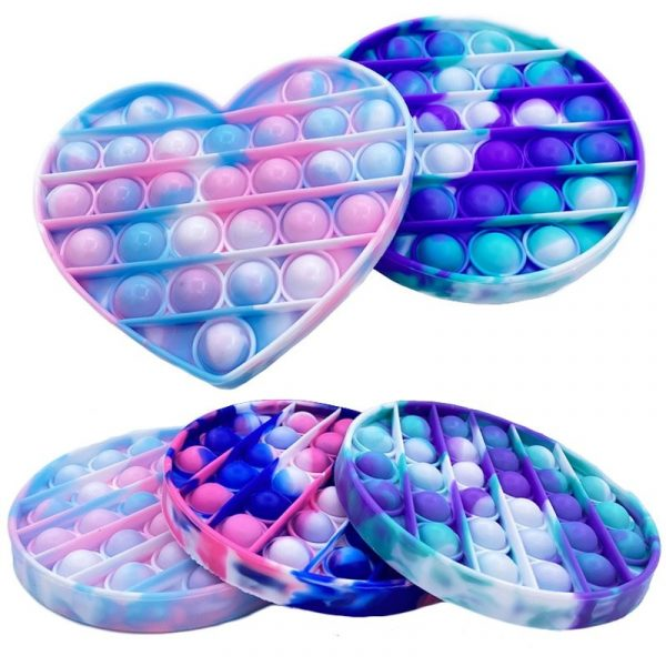 Trendy Popit Push Bubble Fun Fidget Toy Soft n Squishy