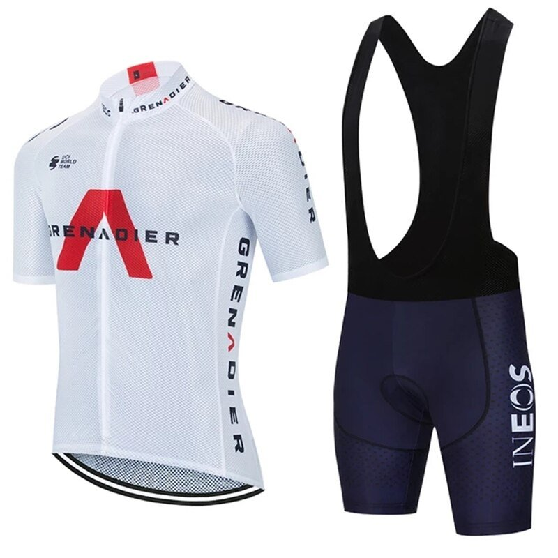 2021 TEAM INEOS cycling jersey sets Men cycling maillot Summer PRO bicycle Shorts Sleeve Suit Quick dry clothing Women Pants Sport and Recreation Color: set Size: XS