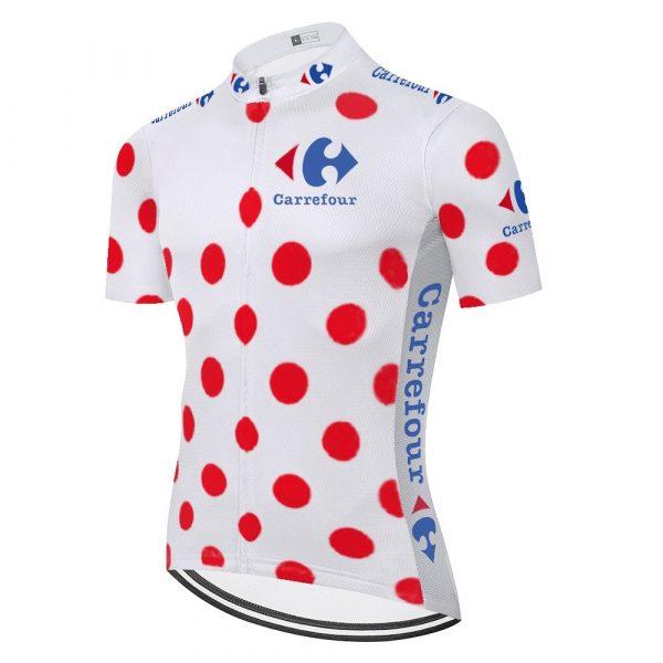 Retro Tour De France Yellow Cycling Jersey