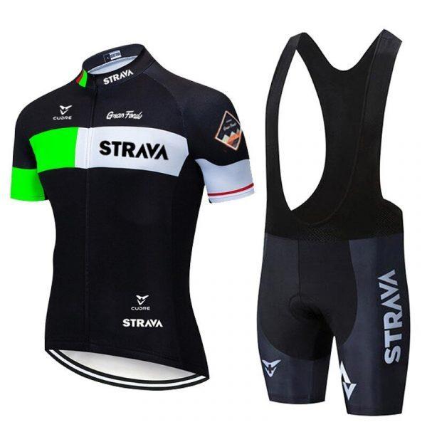Mens Cycling Jersey Shorts Set