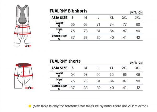 Bib Style & Regular Style Padded Insert Cycling Shorts