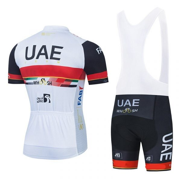 2021 UAE Cycling Team Replica Jersey Padded Shorts