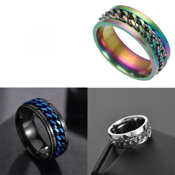 Fun Fidget Spinner Ring