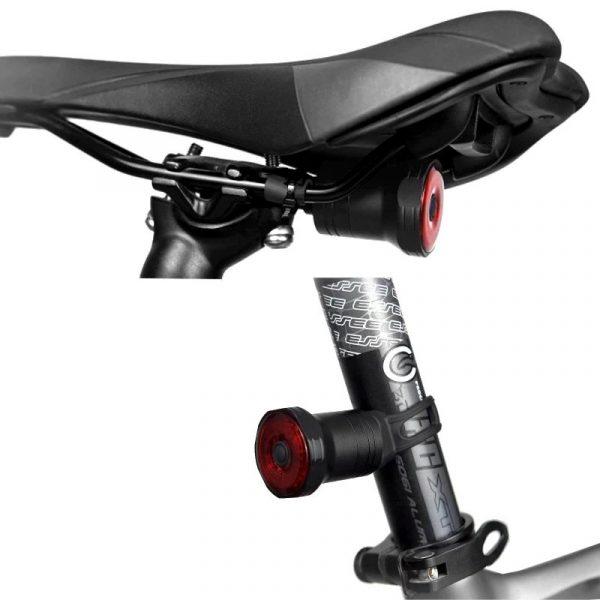 Smart Rear Tail Bike Light   Auto Brake Function   LED Cycle Light