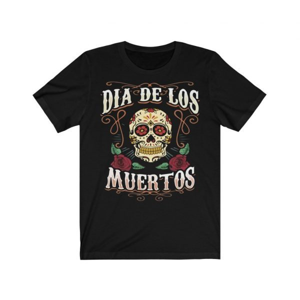 Day Of The Dead (Dia De Los Muertos) Unisex Jersey Short Sleeve T Shirt